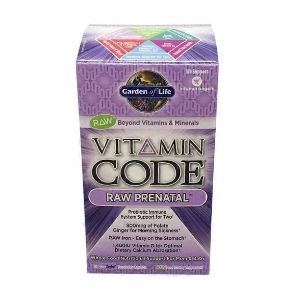 garden of life vitamin code raw prenatal vitamins - Garden Of Life Prenatal