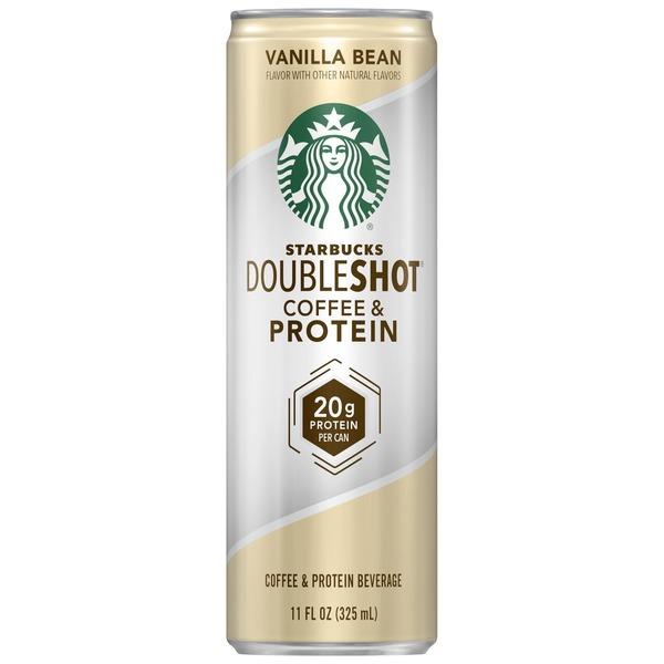 Starbucks Doubleshot Coffee Protein Vanilla Bean From