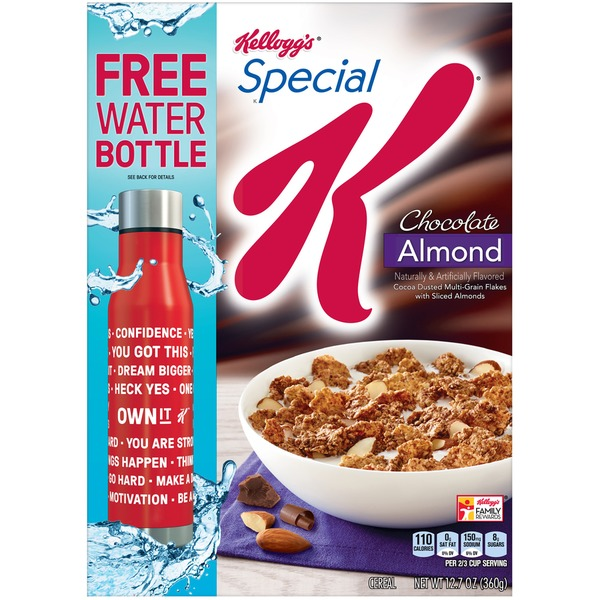 Kelloggs special k chocolate almond cereal from market basket kelloggs special k chocolate almond cereal ccuart Choice Image