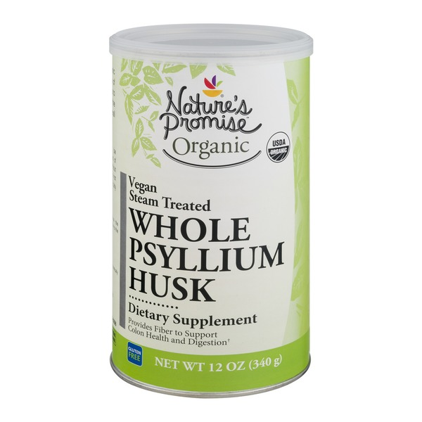 Nature's Promise Organic Dietary Supplement Whole Psyllium