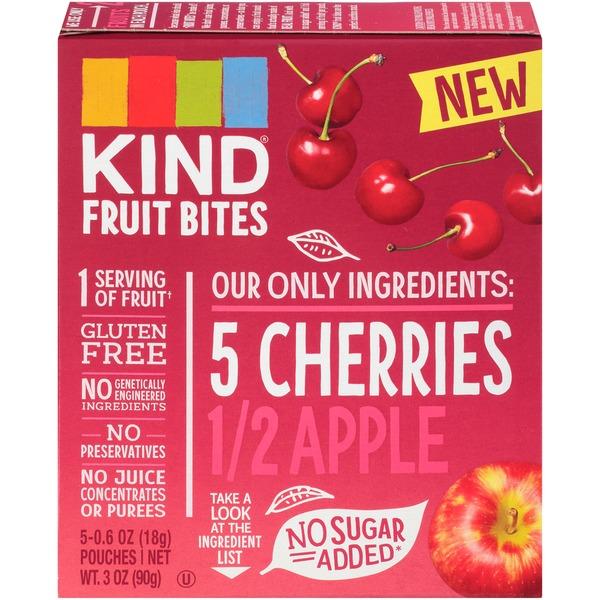 KIND Cherries Apple Fruit Bites