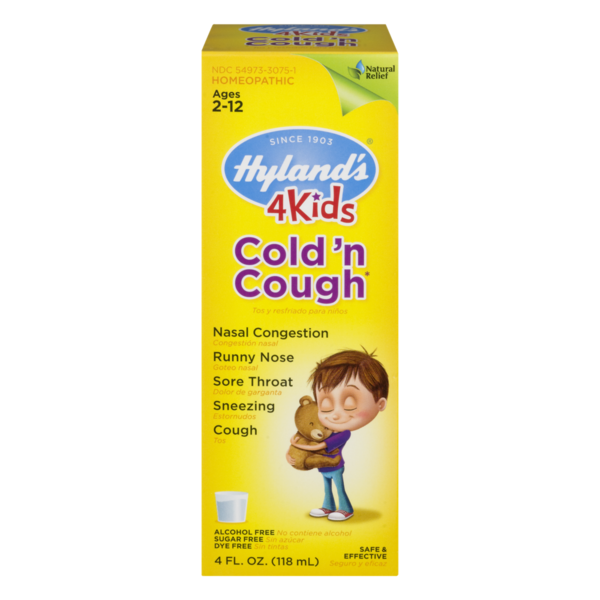 Hyland's Cold & Cough 4 Kids Syrup (4 fl oz) from Publix