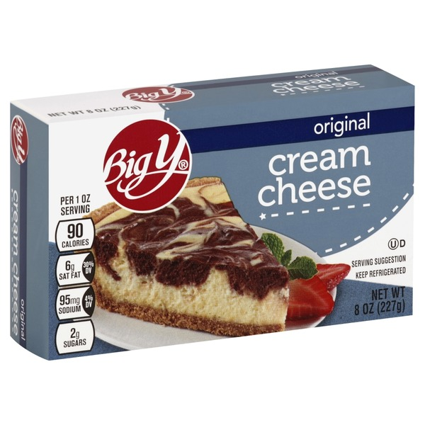 big y cream cheese original