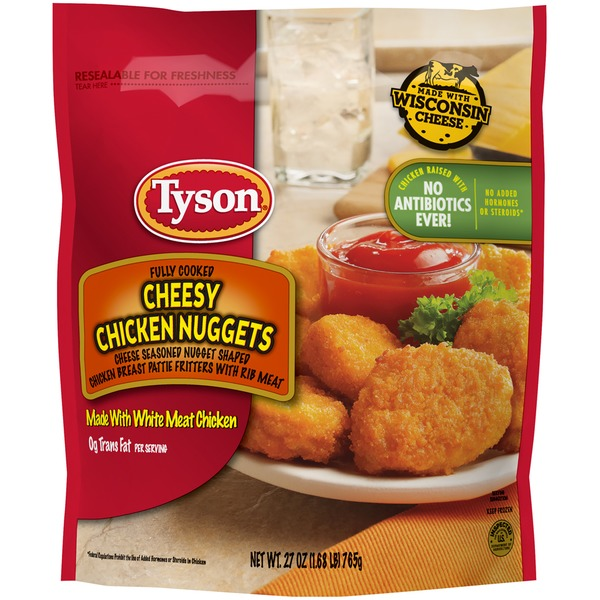 Tyson Fully Cooked Cheesy Chicken Nuggets From Food Lion Instacart