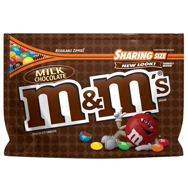 M&M's Milk Chocolate Candy (10 oz) from ALDI - Instacart