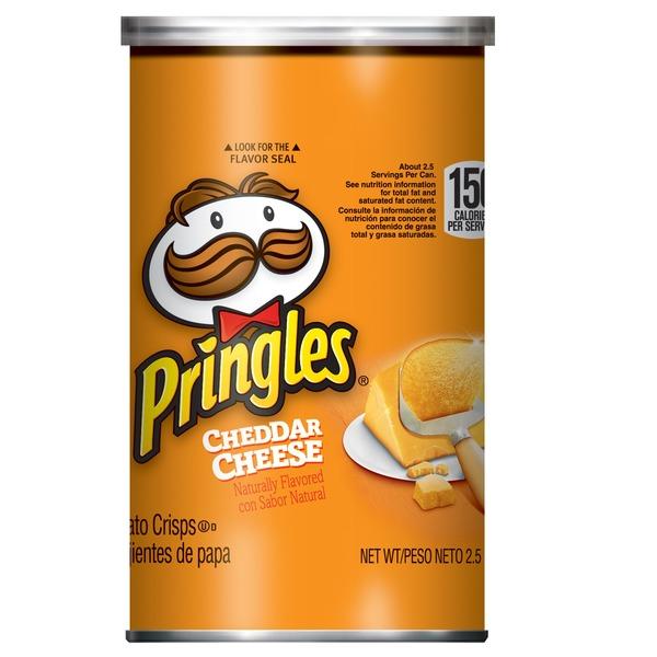 Pringles Pringles Potato Crisps Chips Cheddar Cheese (2 5 oz