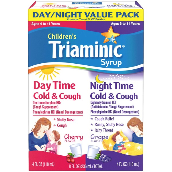 Triaminic Children's Triaminic Syrup Day/Night Value Pack Cherry and