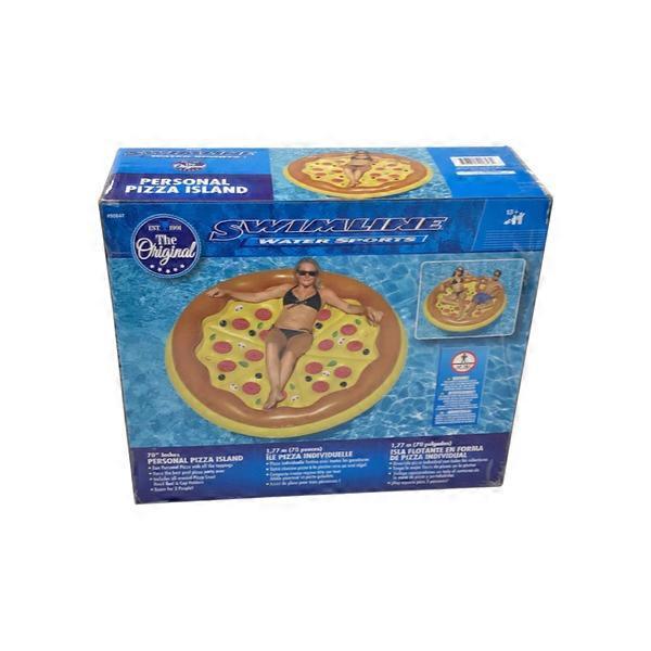 Swimline Personal Pizza Island Swimming Pool Float (each ...