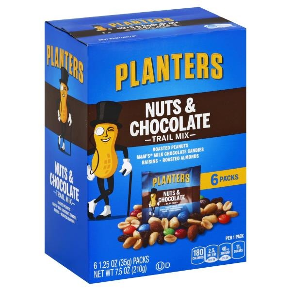oz chocolate mix planters pl nu pack planter trail and facts nuts of bags nutrition