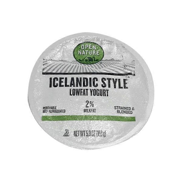 Open Nature Blueberry Icelandic Style Lowfat Yogurt (5 3 oz