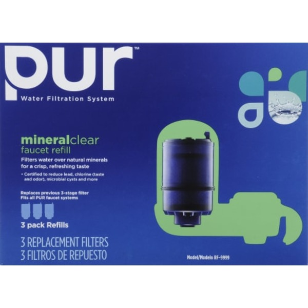 Pur 3-Stage Faucet Filter Refill (3 ct) from Fry's - Instacart
