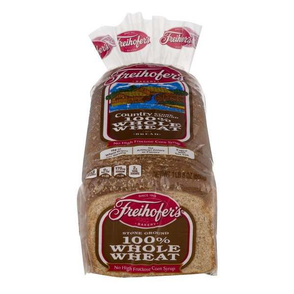 Freihofer's Bread Country 100% Whole Wheat