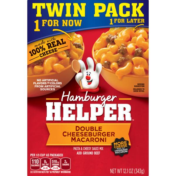 Hamburger Helper Betty Crocker , Double Cheeseburger Macaroni from ...