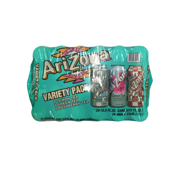 arizona tea variety pack 15 5 fl oz from smart final instacart