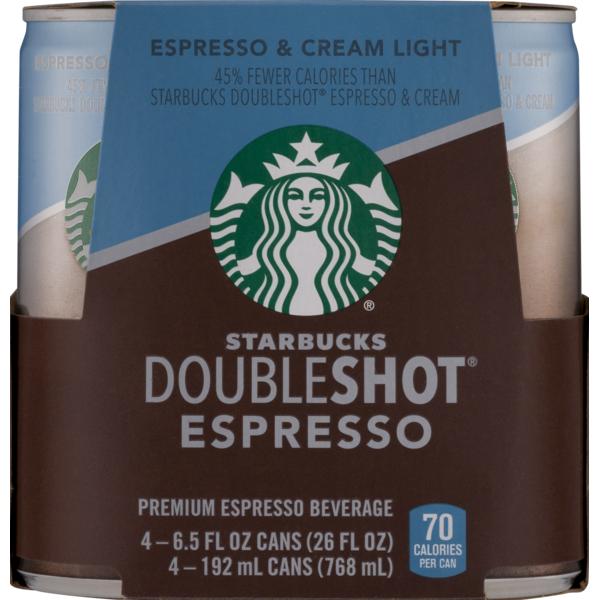 Starbucks Doubleshot Espresso 6 5 Fl Oz From Safeway