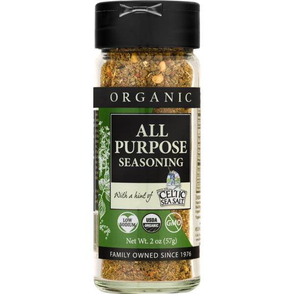 Celtic Sea Salt Organic Seasoning All Purpose (2 oz) from