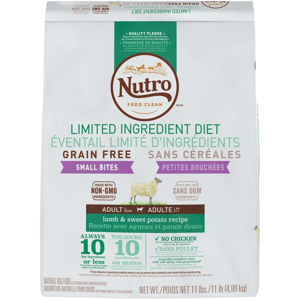 Nutro Limited Ingredient Diet Grain Free Small Bites Lamb Sweet