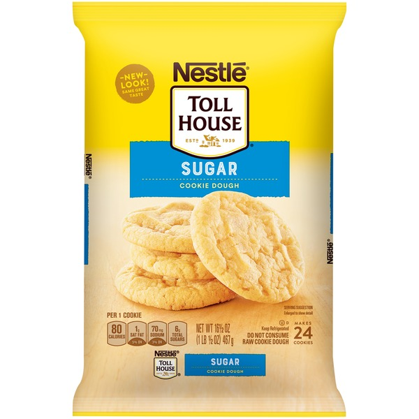Toll House Sugar Nestle Toll House Sugar Cookie Dough From Meijer