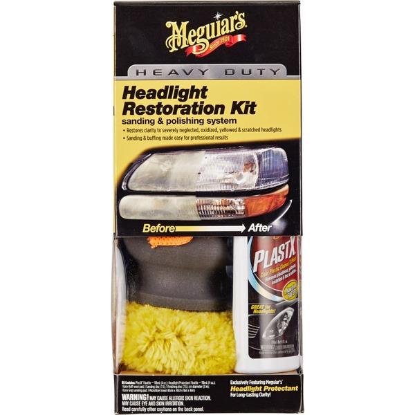 Meguiar's Heavy Duty Headlight Restoration Kit (each) from Fred