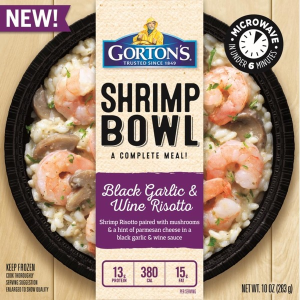 Gortons black garlic wine risotto shrimp bowl frozen dinner from gortons black garlic wine risotto shrimp bowl frozen dinner forumfinder