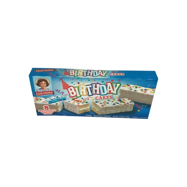 Little Debbie Birthday Cakes 8 Ea From Food Lion Instacart