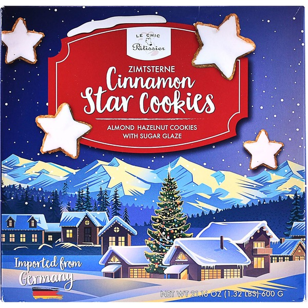 Le Chic Patissier Cinnamon Star Cookies (21 oz) from Costco
