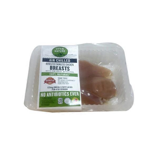 Open Nature Ac Boneless Skinless Chicken Breast (per lb