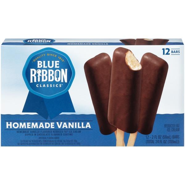 Blue Ribbon Classics Homemade Vanilla Ice Cream Bars 2 Fl