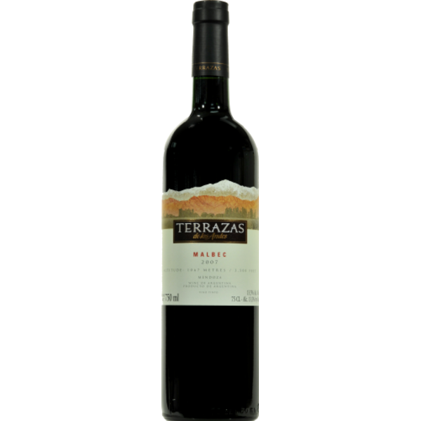 Terrazas Altos Del Plata Malbec 2011 750 Ml From Kroger
