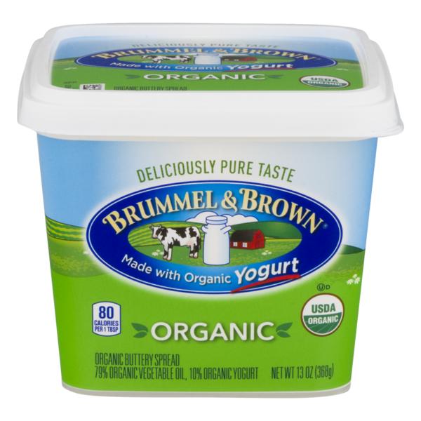 Brummel Brown Organic Buttery Spread 13 Oz Instacart