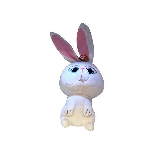 Ty Beanie Babies Secret Life of Pets Snowball the Bunny Medium Plush c482e6e5759