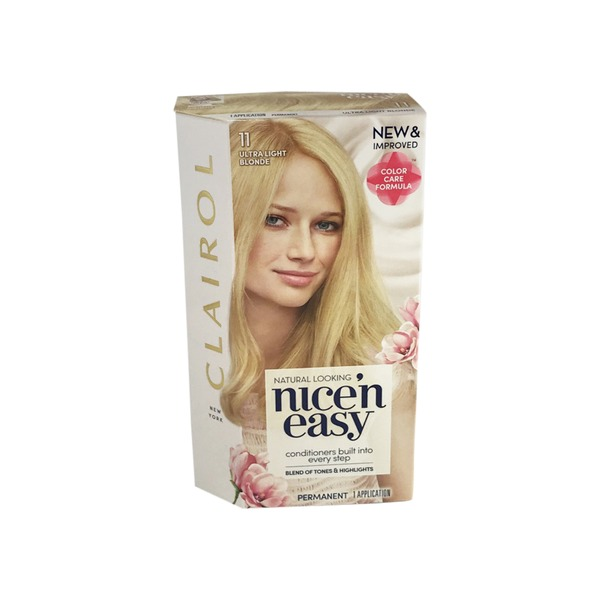 Clairol Nice N Easy Ultra Light Natural Blonde Permanent Hair Color