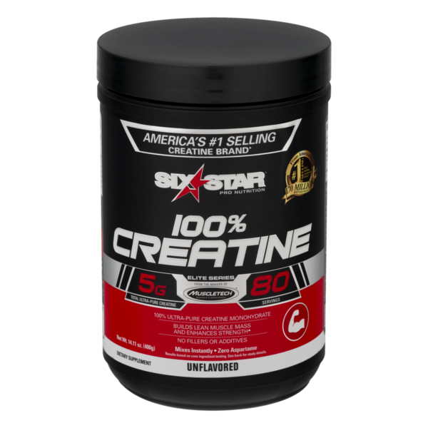 Six Star 100& Creatine Unflavored