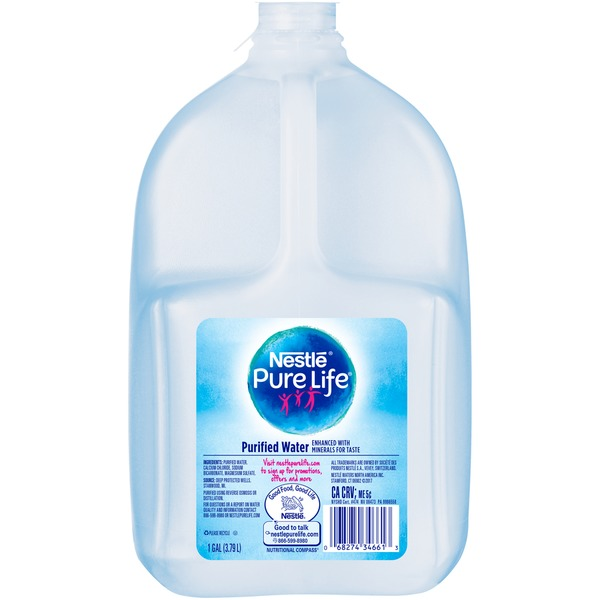Pure Life Purified Water (1 gal) from Fairway Market - Instacart