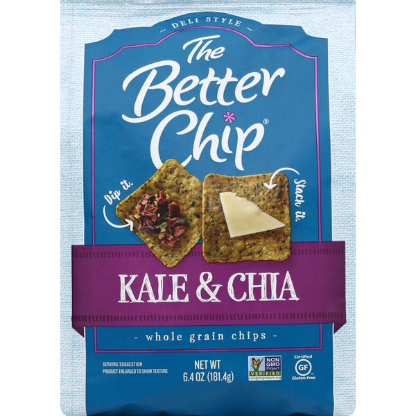 The Better Chip Kale & Chia Whole Grain Chips