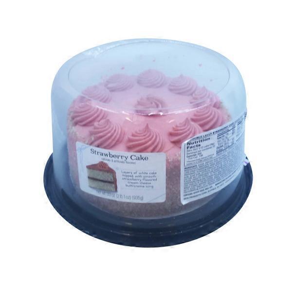 Shop N Save Richs Strawberry Dessert Cake