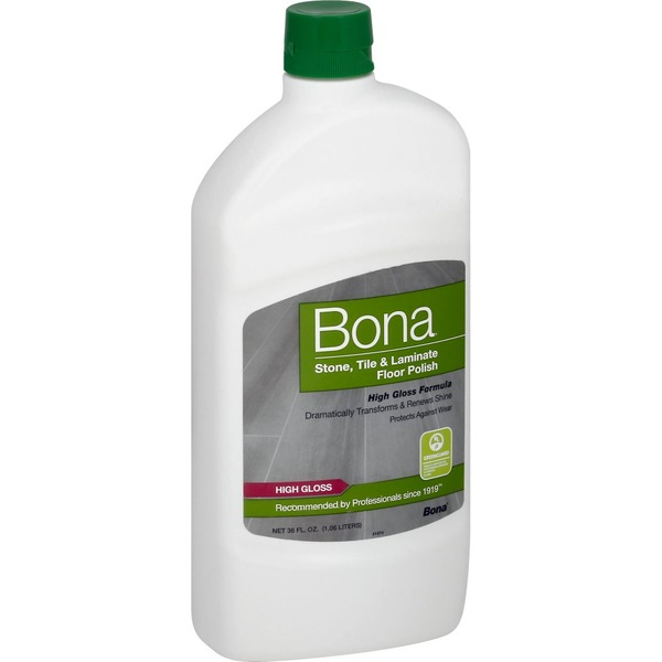 Bona Floor Polish Stone Tile Laminate High Gloss Formula 36