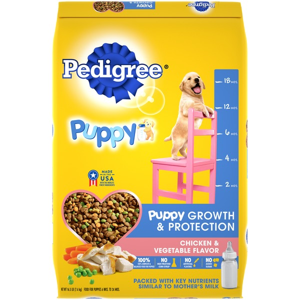 Pedigree Puppy Growth & Protection Chicken & Vegetable Flavor (16 3