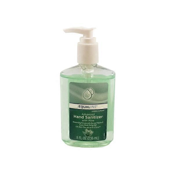 Equaline Hand Sanitizer With Aloe 8 Fl Oz Instacart
