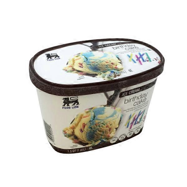Food Lion Ice Cream Birthday Cake 15 qt from Food Lion Instacart
