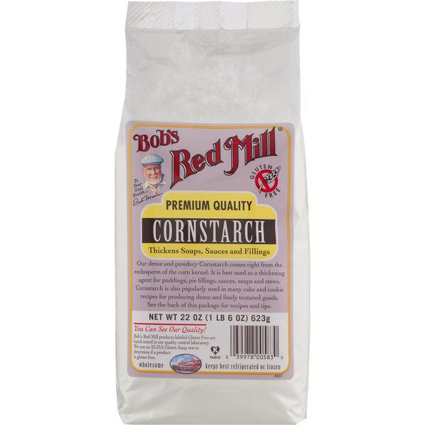Bob's Red Mill Premium Quality Cornstarch (22 oz) from Sabor