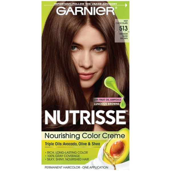 Nutrisse Nourishing Color Creme 513 Medium Nude Brown Haircolor