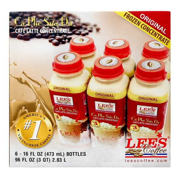 Lee S Coffee Concentrated Regular Flavor 6 Pack 6 Pk From Costco