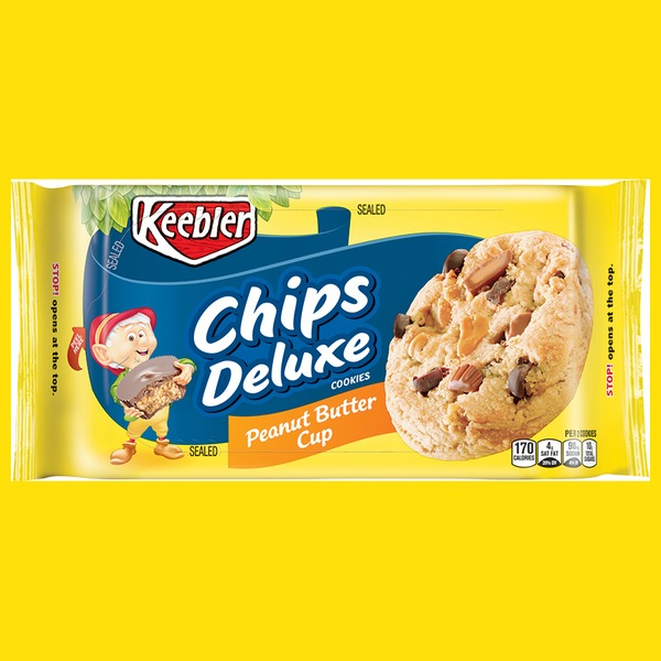 keebler chips deluxe peanut butter cup cookies from jewel osco