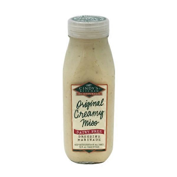 Cindy\'s Kitchen All Natural Organic Creamy Miso Dairy Free Dressing ...