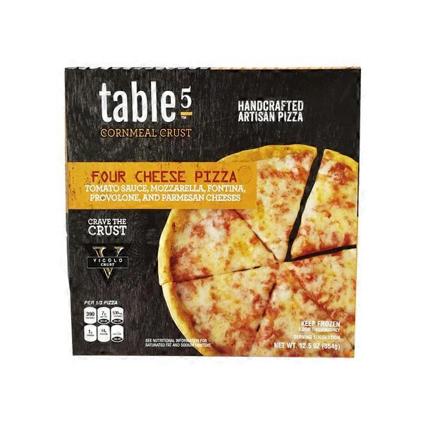 Table 5 Handcrafted Artisan Pizza Four Cheese