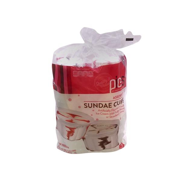 Price Chopper Strawberry Fudge Swirl Ice Cream Cups 36 Oz From