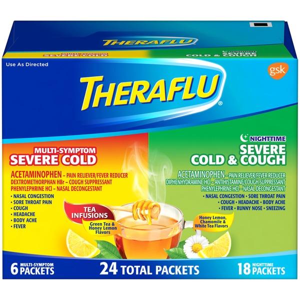 Theraflu Multi Symptom Nighttime Cold Medicine 24 Ct From