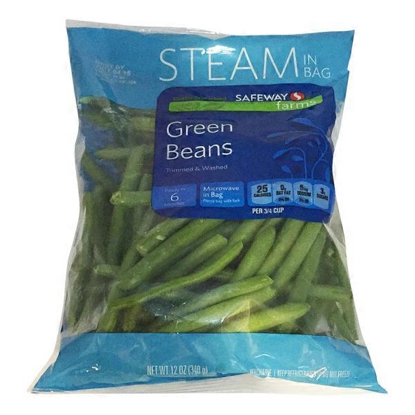 Signature Kitchens Green Beans Steambag (12 oz) from ...