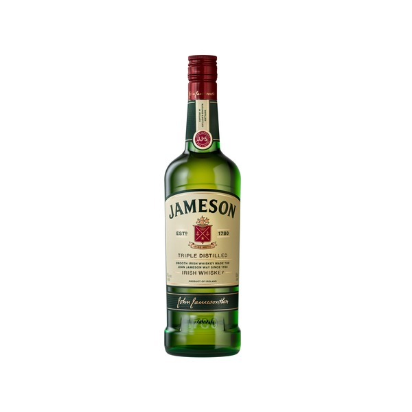 Jameson Triple Distilled Irish Whiskey